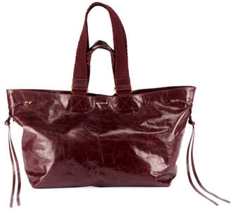 Isabel Marant Wardy New Leather Tote Bag