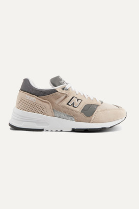 New Balance 1530 Suede, Mesh And Leather Sneakers - Beige