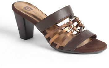 Anne Klein Orian Leather Sandals