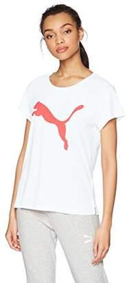 Puma Women's Urban Sports Logo Tee