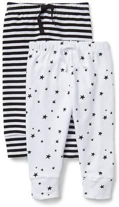 Gap Cuddle & Play Stripe Pull-On Pants (2-Pack)
