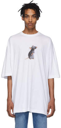 Vetements Two-Pack White Rat/Cheese Couple T-Shirt