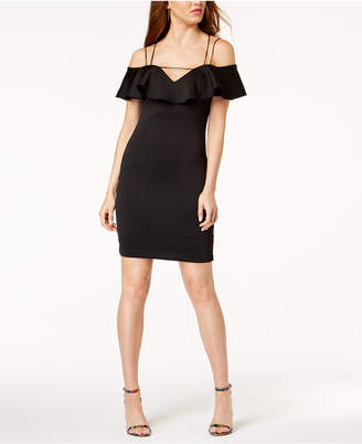 GUESS Mara Off-The-Shoulder Bodycon Dress
