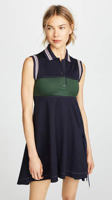 Carven Mini Polo Dress