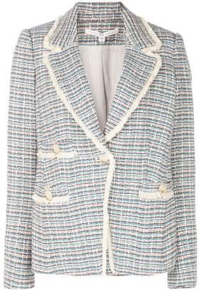 Veronica Beard fitted tweed jacket