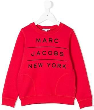 Little Marc Jacobs (リトル マーク ジェイコブス) - Little Marc Jacobs ロゴプリント スウェットシャツ