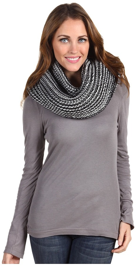 Echo Marled Super Chunky Neck Ring (Black) - Accessories
