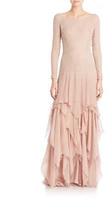 Ralph Lauren Collection Beaded Carmella Evening Gown $7,500 thestylecure.com