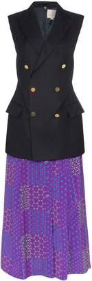 Rentrayage Working Girl sleeveless blazer dress