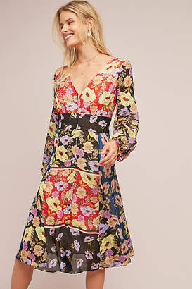 Maeve Gardenia Wrap Dress