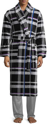 Robert Graham Men's On the Beam Tartan Robe