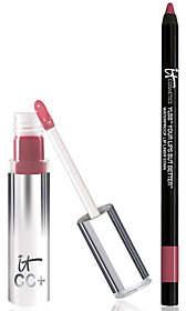 It Cosmetics CC Lip Serum Creme Gloss & LipLiner Stain Duo
