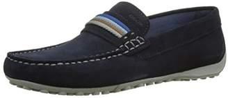 Geox Men's M Snake Moc 14 Boat Shoe