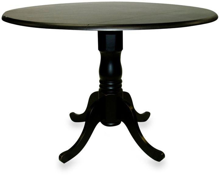Bed Bath & Beyond Carolina Chair & Table Company Provence Dining Table in Antique Black