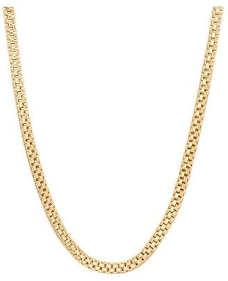 Tiara Sterling Silver Popcorn Link Chain Necklace