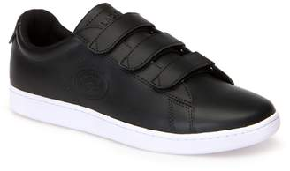 534c3fcf70dd05 Lacoste Mens Carnaby Evo Strap Leather Trainers