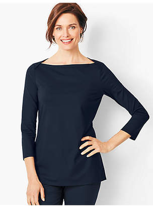 Talbots Knit Jersey Tunic Top