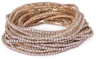 ABS by Allen Schwartz Crystal Multi-Strands Bracelet