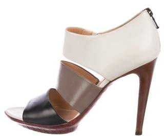 Bottega Veneta Leather Multi-Strap Sandals