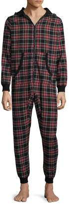Bottoms Out Men's Flannel Plaid Bodysuit