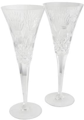 Waterford Millennium Prosperity Champagne Flutes