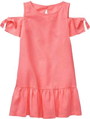 Crazy 8 Crazy8 Toddler Cold-Shoulder Dress