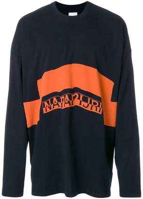 Martine Rose Napa By logo print sweatshirt