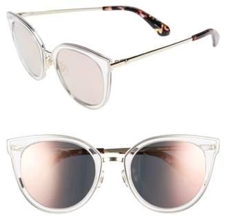 Kate Spade jazzlyn 51mm Cat Eye Sunglasses