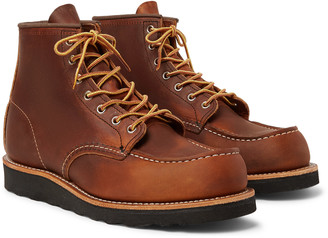 Red Wing Shoes 8138 6-Inch Moc Leather Boots - Men - Brown