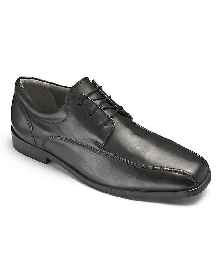 Boys 'Hugo' Black Shoes Wide Fit