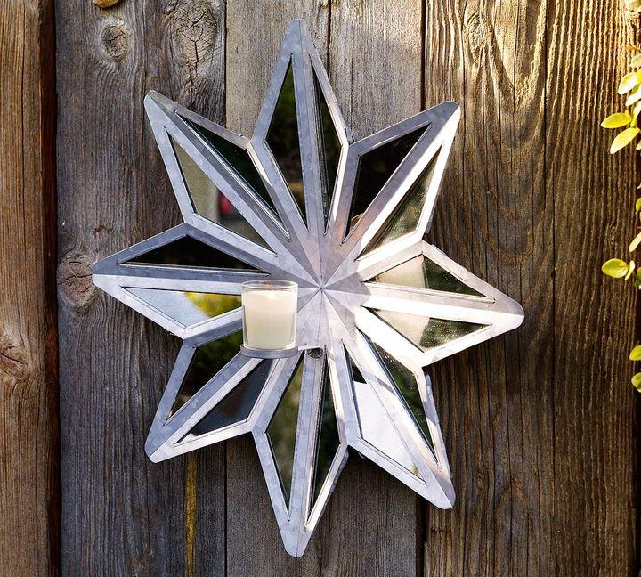 Star Wall-Mount Candleholder