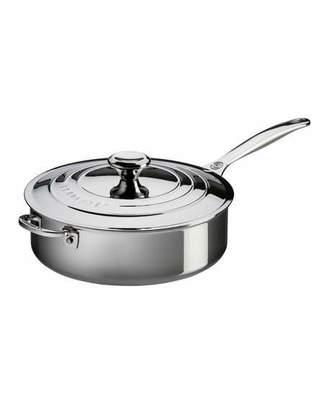 Le Creuset Helper Handle Saute Pan with Lid