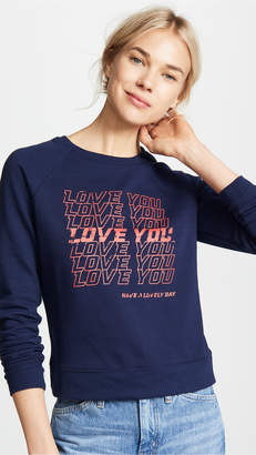 Rebecca Minkoff Love You Jennings Sweatshirt