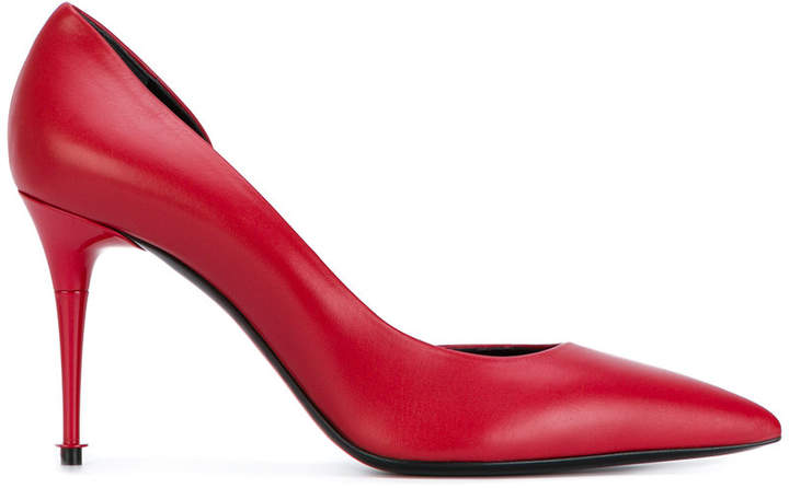 Tom Ford pointed cut out pumps