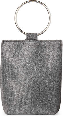 Jessica McClintock Pewter Sparkle Gwen Convertible Clutch