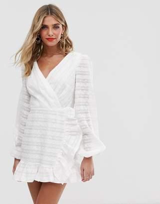 Finders Keepers Sofia long sleeve mini dress