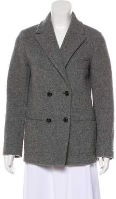 Cacharel Wool-Blend Button-Up Coat