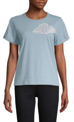 Marc Jacobs Embroidered Cloud Cotton Tee