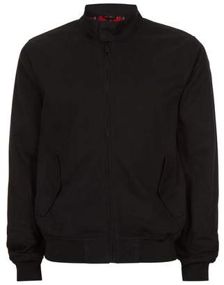 Black Harrington Jacket $65 thestylecure.com