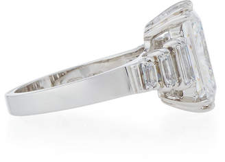 FANTASIA Emerald-Cut Cubic Zirconia Ring