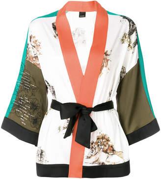Pinko belted kimono jacket