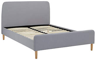 John Lewis & Partners House by Bonn Bed Frame, Double, Grey