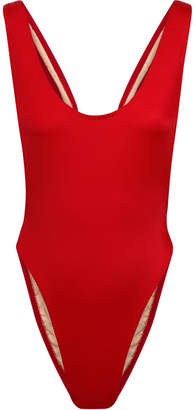 Norma Kamali Marissa Swimsuit - Red
