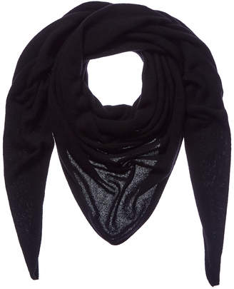 White + Warren Black Cashmere Scarf