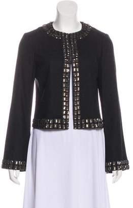 Tory Burch Embellished Long Sleeve Blazer