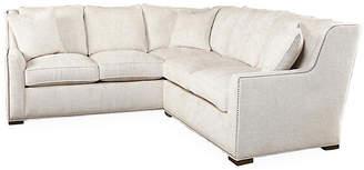 "Massoud Furniture Trezza 98"" Sectional - Sand"