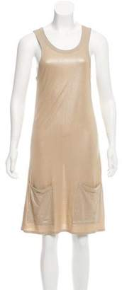 Stella McCartney Metallic Knee-Length Dress