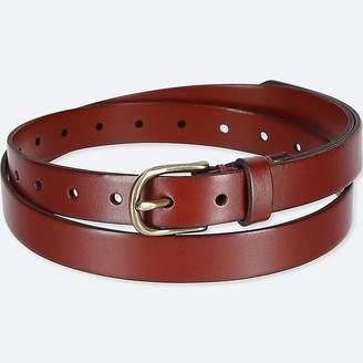 Uniqlo Women's Vintage Skinny Belt