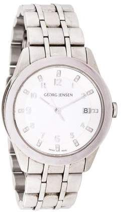 Georg Jensen Design Barth Watch