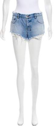 Ksubi Mid-Rise Mini Shorts